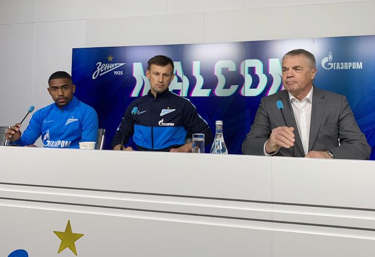 Экс-футболист «Барселоны» Малком официально стал игроком «Зенита»