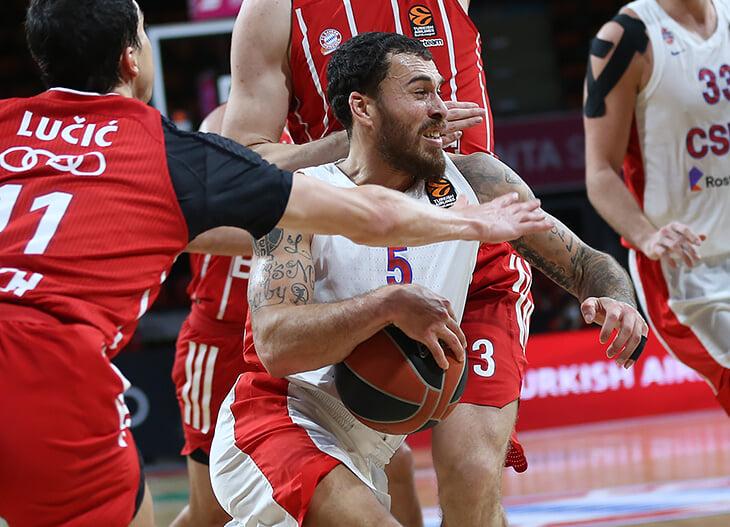 ЦСКА выбрался на второе место в Евролиге. Все починили?