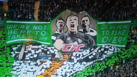 Баннер фанатов «Селтика», который точно понравится МакГрегору