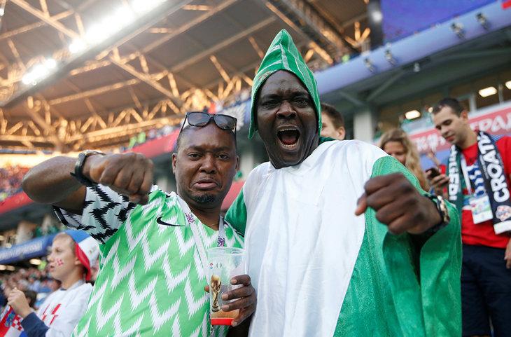 болельщики, Сборная Нигерии по футболу, ЧМ-2018