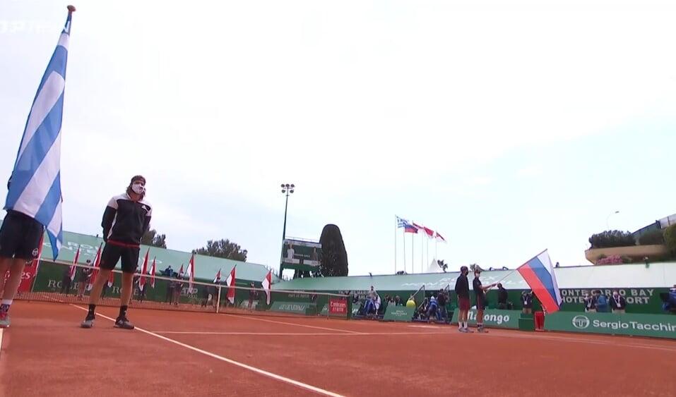 Рублев проиграл финал «Мастерса» в Монте-Карло Циципасу. Грек играл вдохновенно и слишком мощно