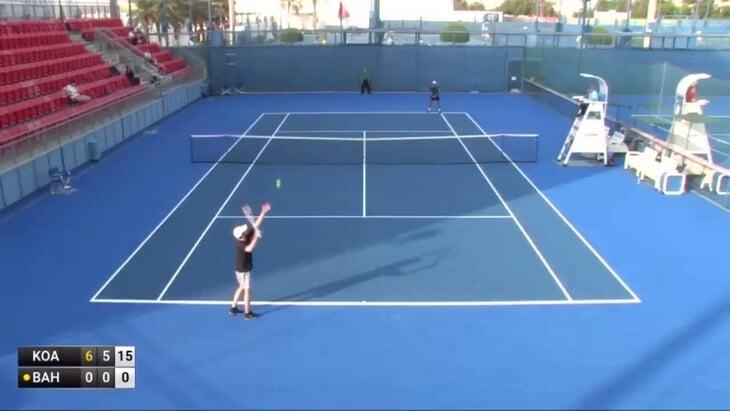 Украинец заявил друга на теннисный турнир, поставил против него и заработал
