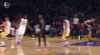 LeBron James sets up Larry Nance Jr. nicely for the bucket