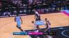 Kristaps Porzingis 3-pointers in Miami Heat vs. Dallas Mavericks