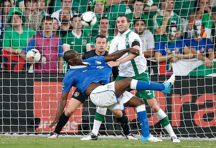 Евро-2012 – лучший турнир Балотелли. Говорили, что он достигнет уровня Месси и Роналду, но Марио запомнился только культовым празднованием