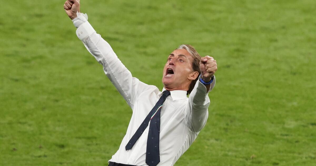 Манчини одержал 30 побед со сборной Италии быстрее всех  за 44 игры