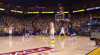 Stephen Curry hits from way downtown