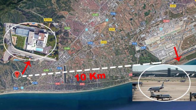 Messinin evinə görə Barselona aeroportunu genişləndirmək mümkün deyil