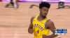 Quinn Cook with the nice feed