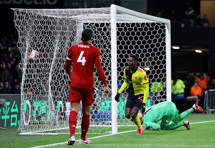 Ужасный день «Ливерпуля»: «Уотфорд» обломал рекорды и унизил. Лидеров АПЛ так не громили 35 лет