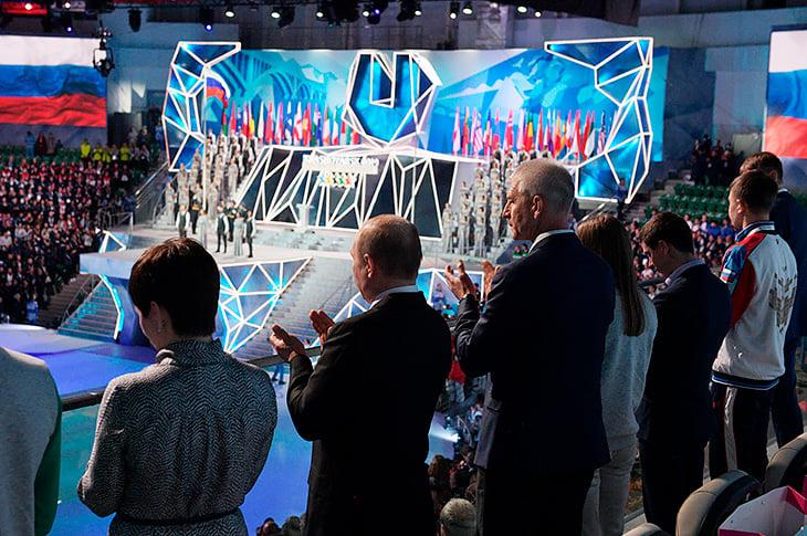 Владимир Путин, Министерство спорта России, WADA, Универсиада