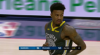 Jordan Bell attacks the rim!