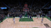 Pat Connaughton gets it to go at the buzzer