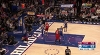 Joel Embiid rises to block the shot