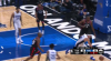 Serge Ibaka rises to block the shot
