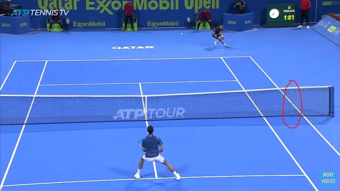 Засчитают ли в теннисе удар, отскочивший в корт от сетки? А от столба или вышки? Разбираем нюансы в правилах