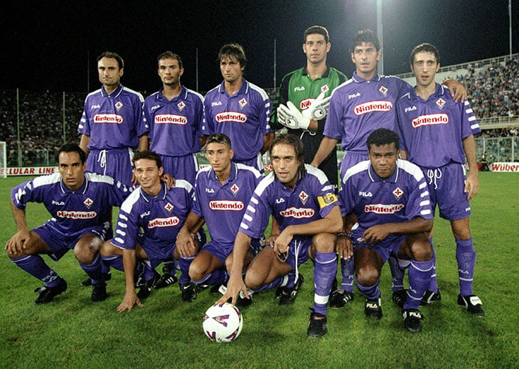В конце 90-х в «Фиорентине» разрывали Батистута, Эдмундо и Руй Кошта. Они бились за чемпионство, но все разрушил бразильский карнавал