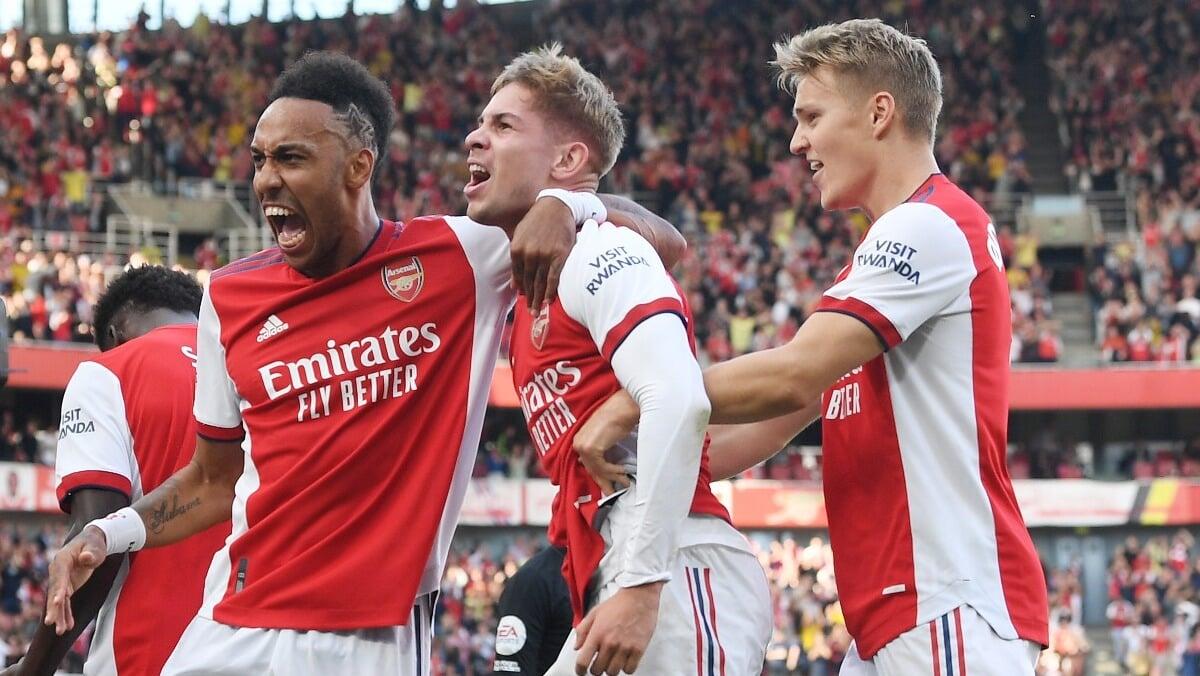 Арсенал выиграл 3 матча АПЛ подряд после 3 поражений на старте сезона