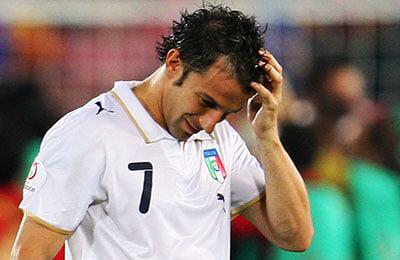 Евро-2008, Роберто Донадони, серия А Италия, сборная Италии по футболу, Алессандро Дель Пьеро