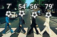 Помните мем с The Beatles и Abbey Road после камбека «Ливерпуля»? Мы связались с автором шедевра