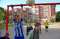 детский футбол, болельщики