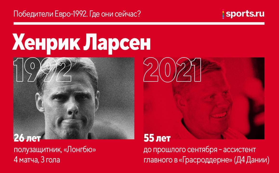 Датчане, выигравшие золото Евро-92. Где они сейчас?