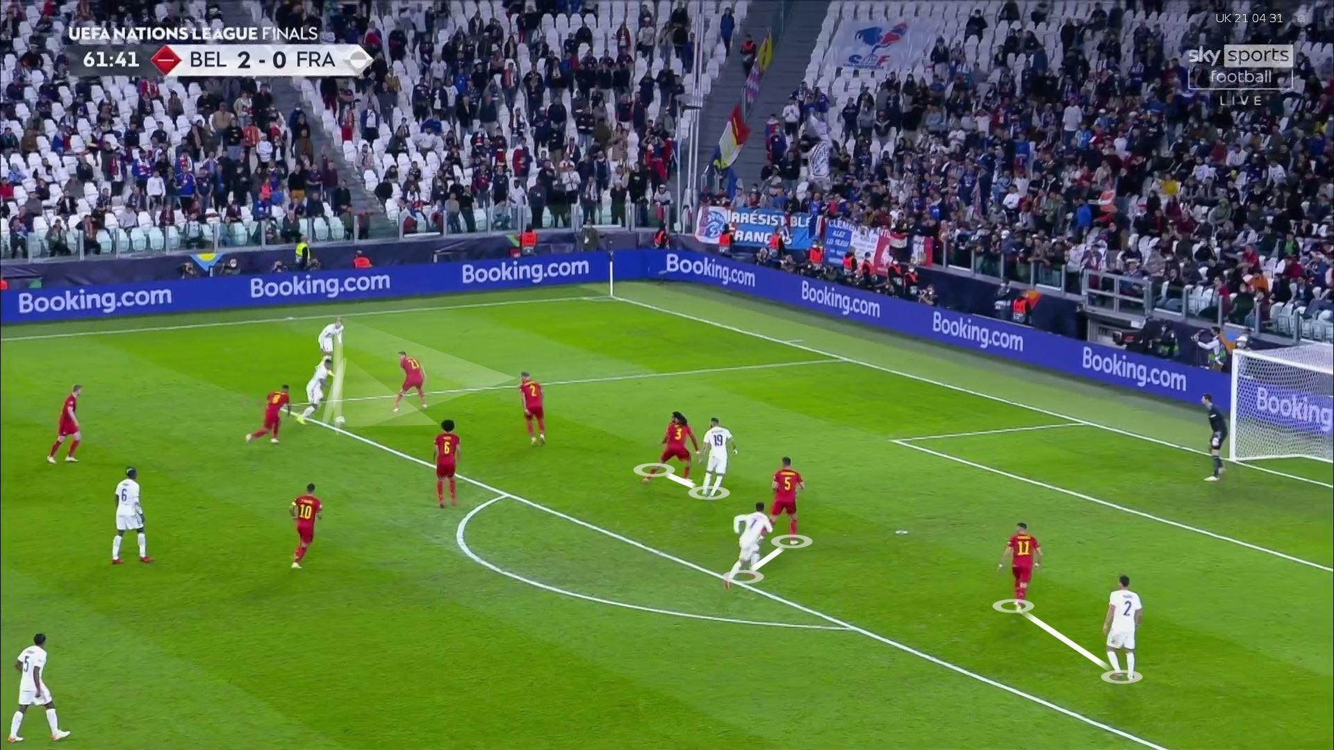 Бельгия и Франция выдали топовое шоу. Звезды (особенно Мбаппе) сделали для победы больше, чем Дешам