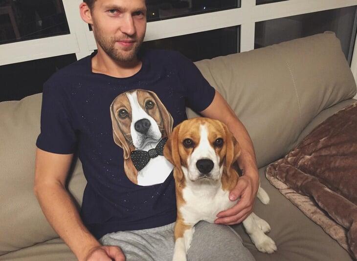 Любовь к собакам, которую мы еще не видели. Новичок ЦСКА даже интересуется их психологией