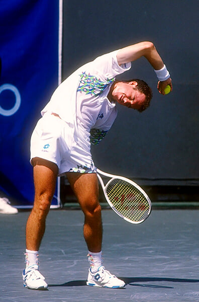 В 1995-м теннисист ушел с матча, обвинив судью в коррупции