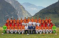 «Алания» сделала магическое командное фото на фоне гор. Вот история кадра