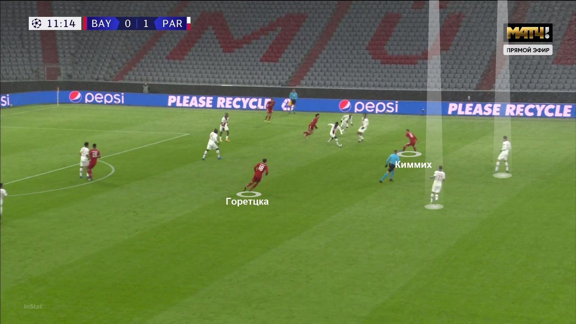 Быстрый гол Мбаппе взорвал матч «Бавария» – «ПСЖ». Ключевой стала дуэль Киммих-Неймар, «Бавария» создала намного больше моментов