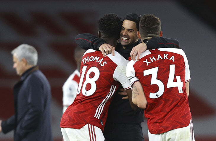«Арсенал» и «Тоттенхэм» выдали самое яркое дерби сезона. Возможно, потому что обе команды вне топ-6