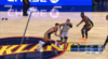 A great dime by Stephen Curry leads to the score