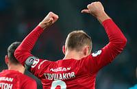 Глушаков отпраздновал гол, показав на свою фамилию. Фанаты «Спартака» уже не знают, что с ним делать
