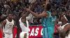 Victor Oladipo sends the shot away