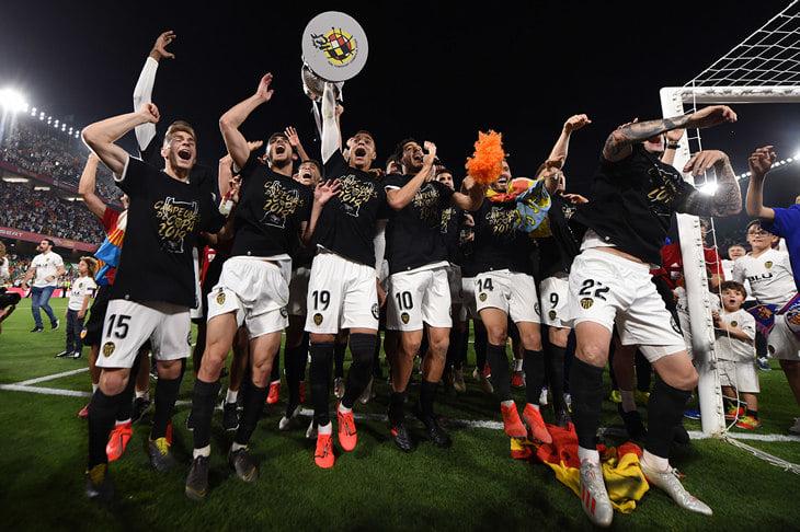 Счастье: «Валенсия» взяла первый трофей за 11 лет. Сколько же она страдала!