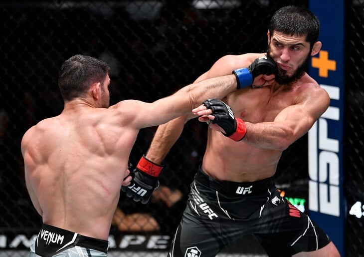 Преемник Хабиба идет к титулу UFC: Ислам Махачев финишировал бразильца и бросил вызов топам