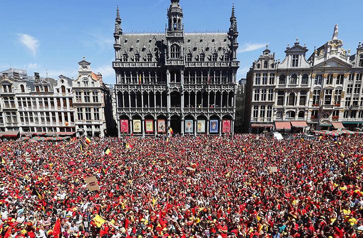 Вы заметили, что сборная Бельгии общается на английском. Объясняем, почему это очень разумно