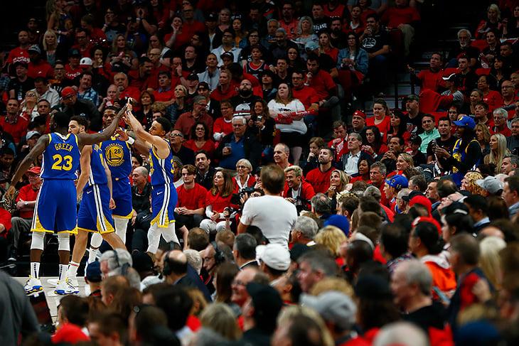 Впервые в истории плей-офф НБА одноклубники делают трипл-даблы в одном матче