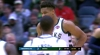 Giannis Antetokounmpo with the huge dunk!