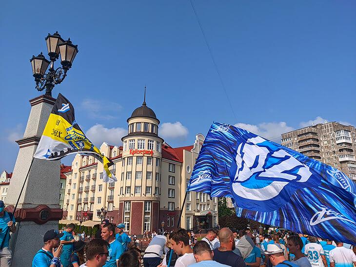 «Зенит» раздавил «Локо»: доминировал и на поле, и на улицах Калининграда