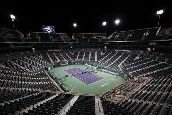 Эпидемия впервые сорвала теннисный топ-турнир. Раньше матчи отменяли из-за ложных бомб и Великой депрессии