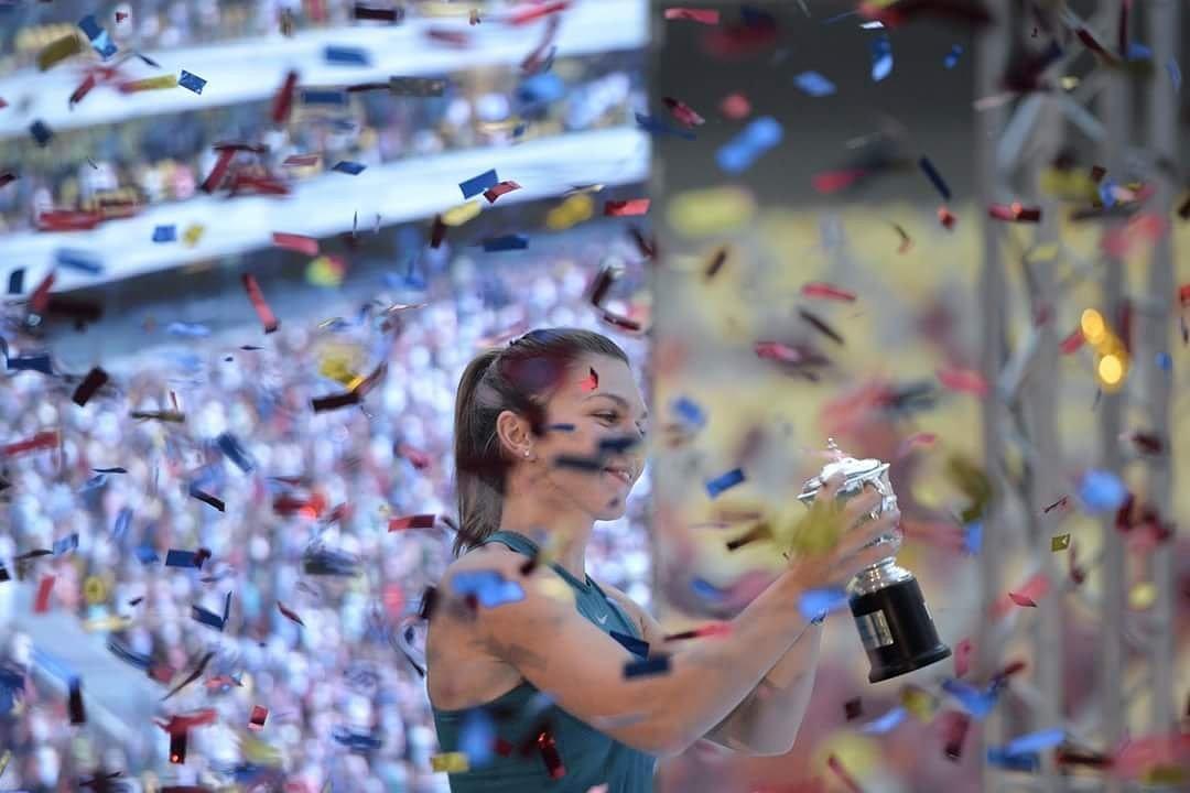 Ролан Гаррос 2018, болельщики, WTA, Симона Халеп