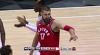 Jonas Valanciunas Blocks in Atlanta Hawks vs. Toronto Raptors
