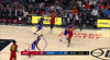 Paul George sets up Montrezl Harrell nicely for the bucket