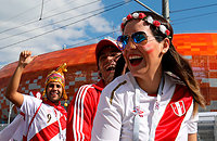 Сборная Ирана по футболу, болельщики, Сборная Перу по футболу