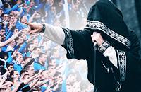 Нейромонах Феофан рассказал Маркову, как записывает песни для «Виража» и превращает матчи «Зенита» в рок-концерты