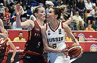 Евробаскет-2017 жен, сборная России жен, сборная Бельгии жен