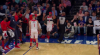 Bradley Beal gets it to go at the buzzer