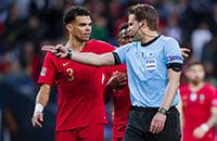Сборная Португалии по футболу, судьи, Сборная Швейцарии по футболу, Лига наций УЕФА, Феликс Брих